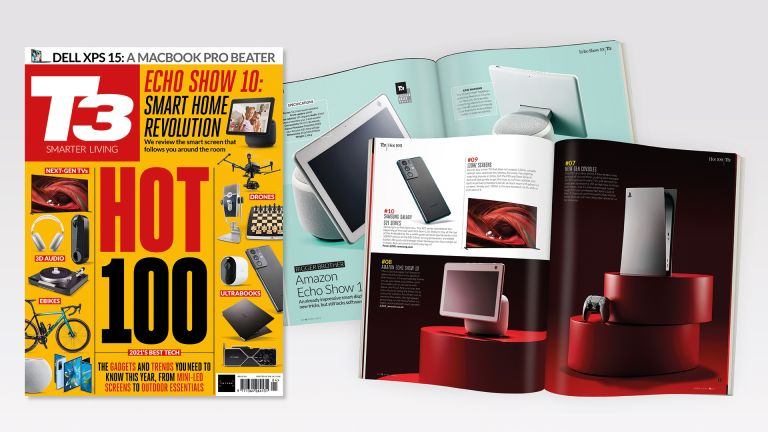 Cover of T3 issue 319 featuring the cover line 'Hot 100'.