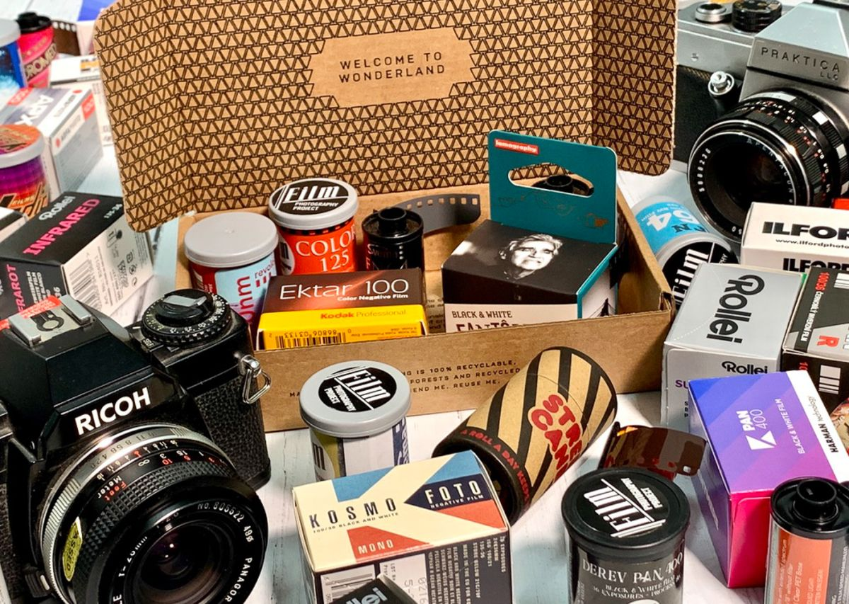 Analogue Wonderbox is the ultimate film club for retro photographers |  Digital Camera World