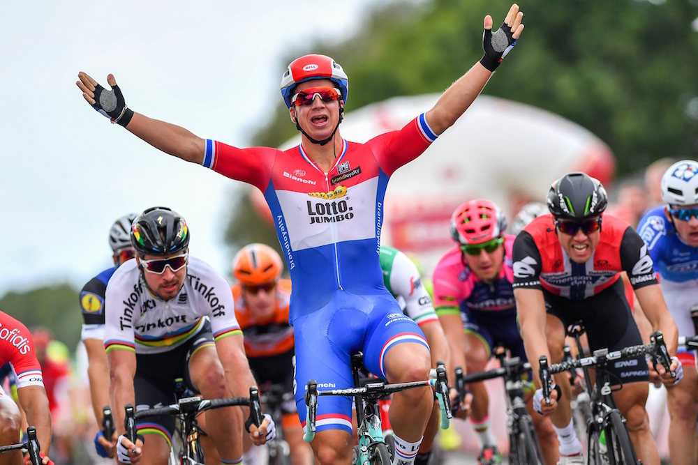 Dylan groenewegen wins eneco tour stage one cycling weekly for Soil uk tour 2016