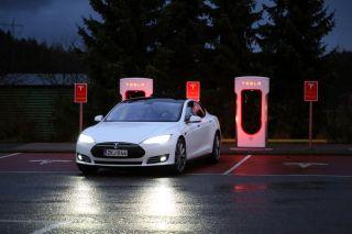 electric car, tesla