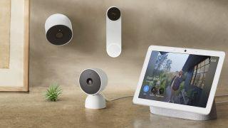 Google Nest cam family 2021