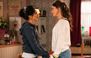 Kate and Rana Nazir