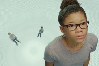 Want To Tesser Ironing Out Wrinkle In Time S Wild Space Travel