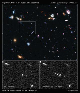 Hubble Supernova Primo