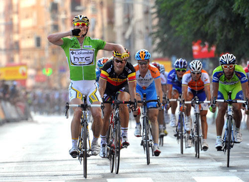 Andre Greipel wins Vuelta a Espana 2009 stage five