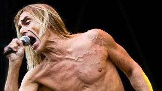 An image of iggy pop on stage