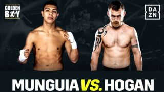Munguia vs Hogan live stream boxing