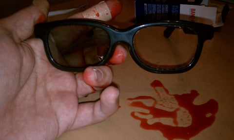 How To Make Sunglasses  de 3d movies a guide to making your own 2d glasses