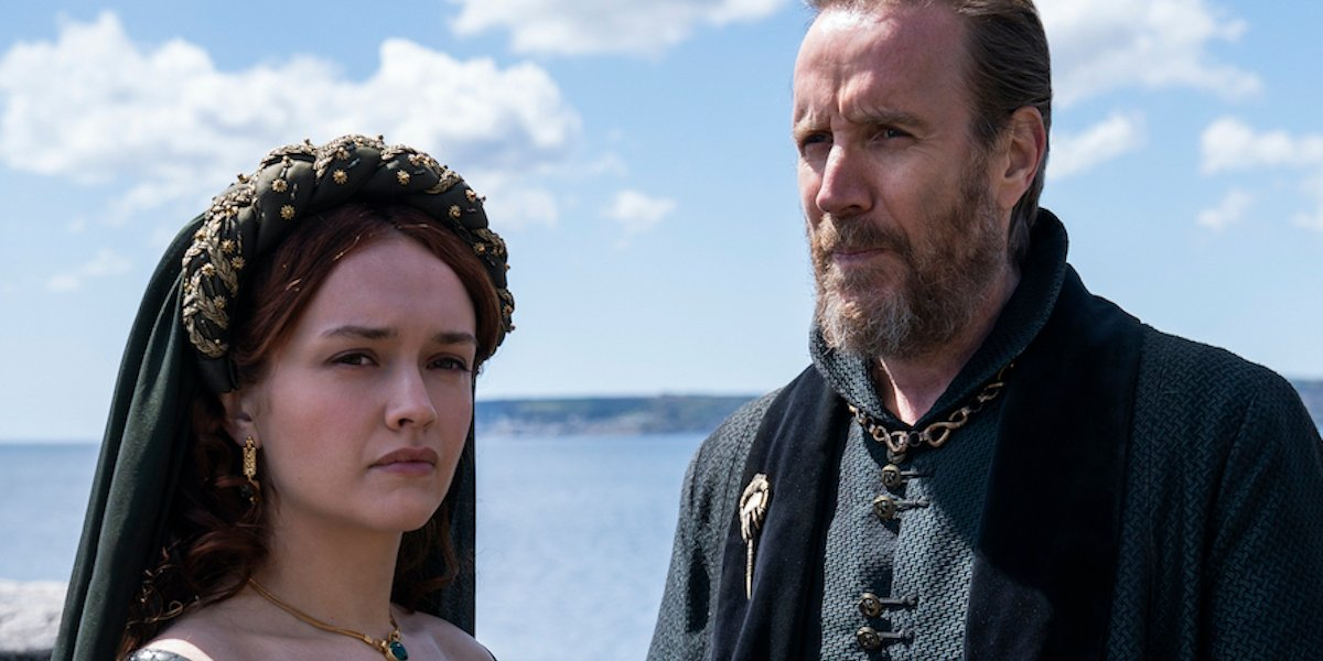 house of the dragon hbo olivia cooke rhys ifans