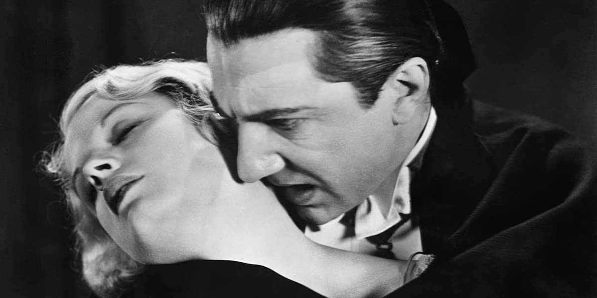 Frances Dade and Bela Lugosi in 1931's Dracula