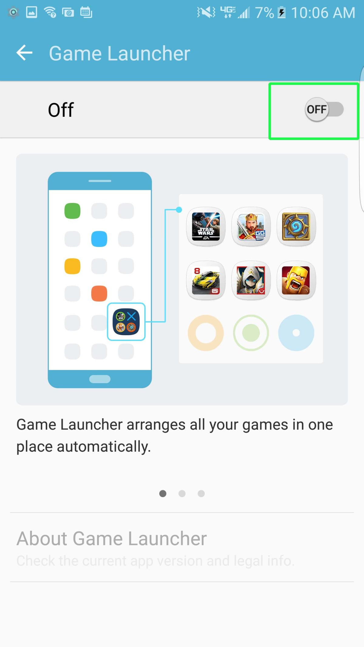 How to Set Up Galaxy S7 Game Launcher - Samsung Galaxy S7