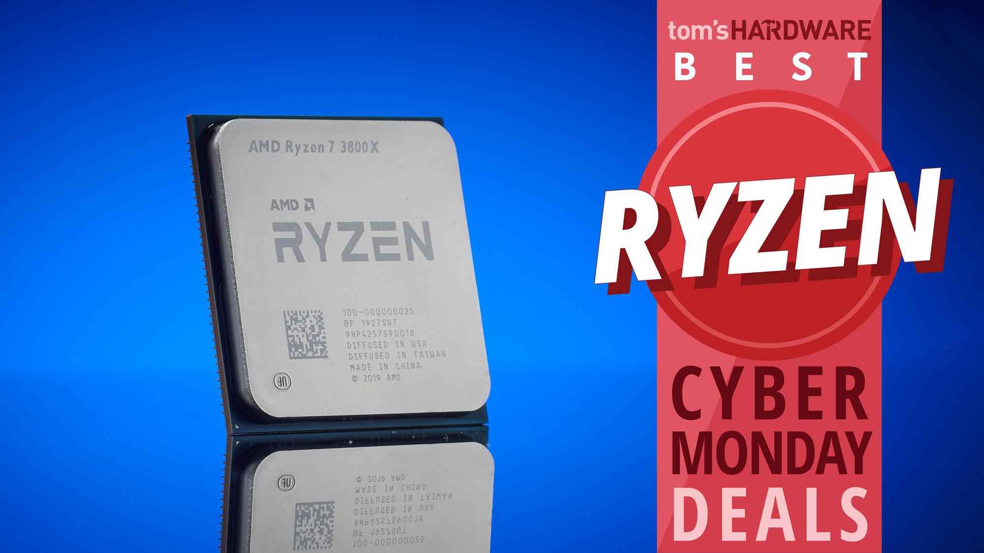Best Cyber Monday Ryzen Deals Lowest Prices On Amd Cpus Tom S Hardware