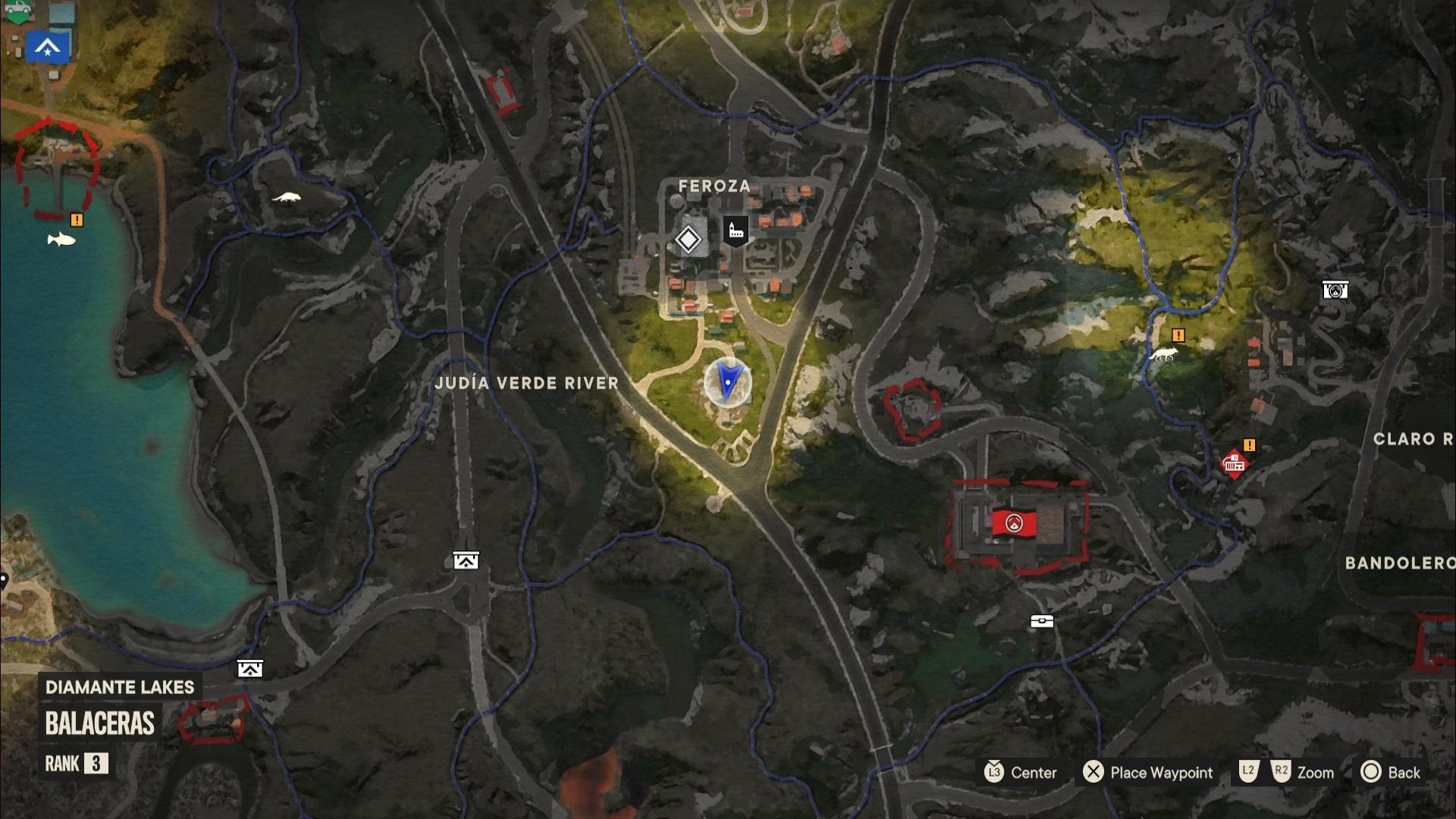 A Far Cry 6 Criptograma chest located in Valle De Oro