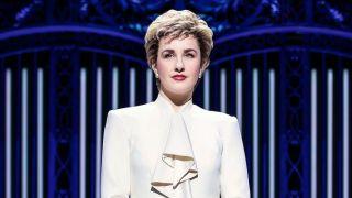 Jeanna de Waal in 'Diana: The Musical'
