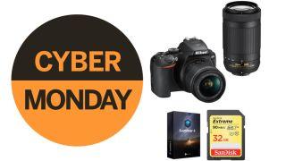 Nikon D3500 twin lens kit Cyber Monday B&H deal