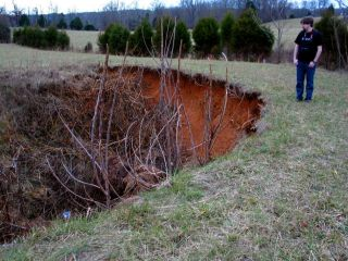 Green County sinkhole