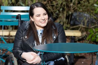 Courtney Campbell in Hollyoaks