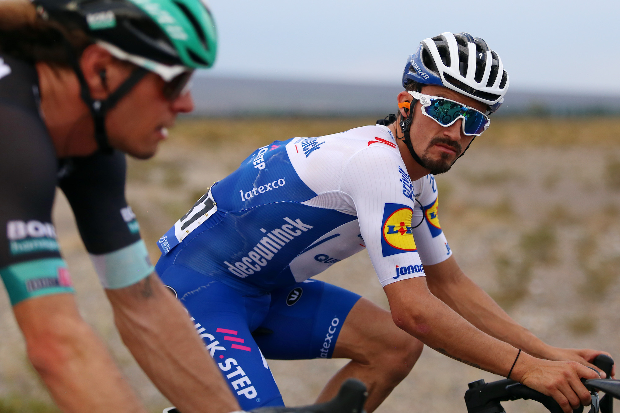 Julian Alaphilippe abandons first race of the year