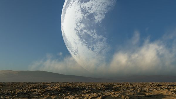 What would happen if the moon were twice as close to Earth?