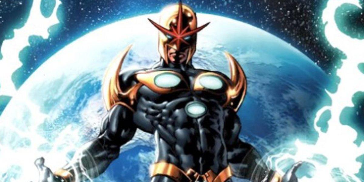Nova from Marvel Comics