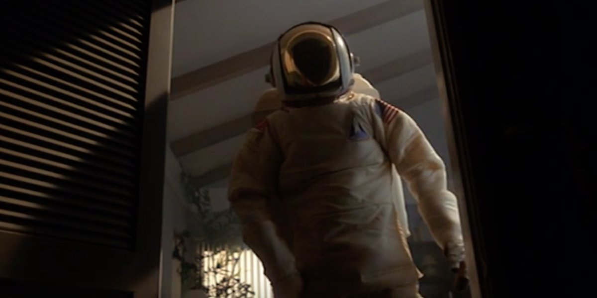 The astronaut in E.T. the Extra-Terrestrial