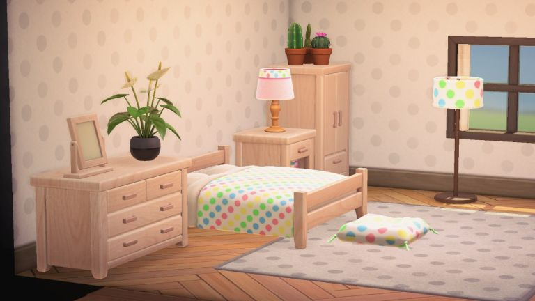 Animal Crossing: polka dot pattern