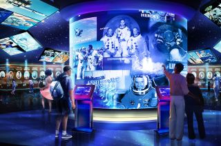 Heroes and Legends Attraction