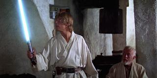 Luke Skywalker New Hope lightsaber