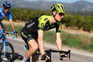 Jack Haig (Mitchelton-Scott) at the 2020 Volta a la Comunitat Valenciana, where he finished second overall