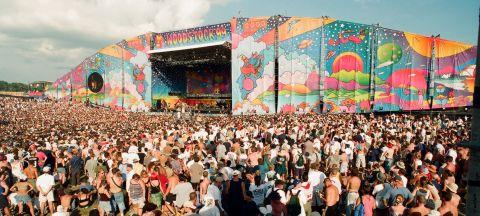 The Woodstock 99 music festival in Rome, N.Y., in July 1999.