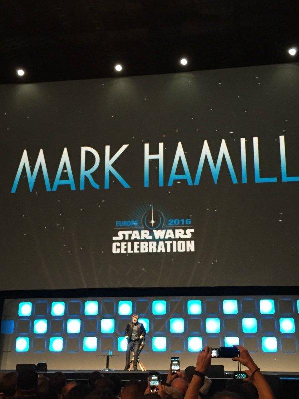 Mark Hamill at Star Wars Celebration