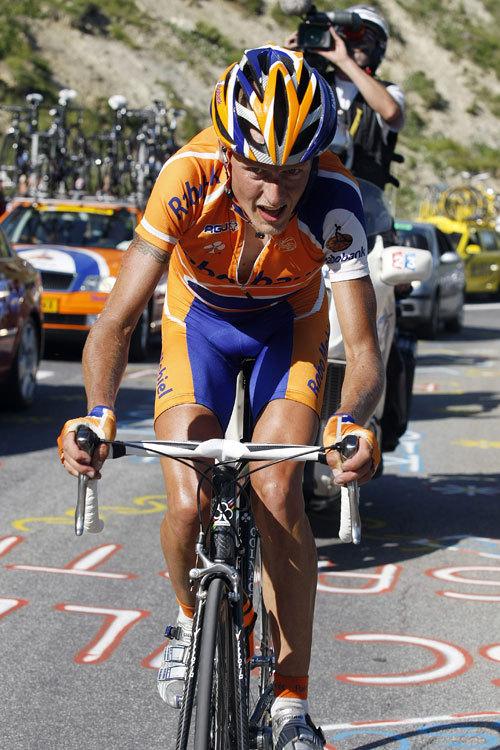 Micahel Rasmussen Tour de France 2007 st 8