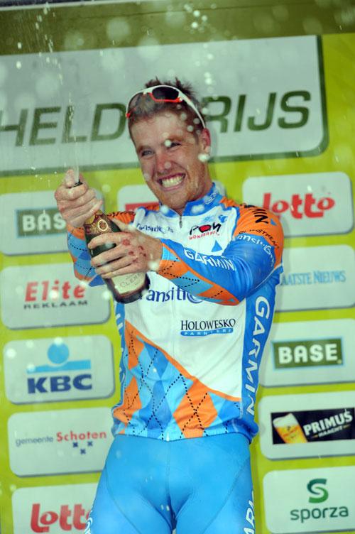 Tyler Farrar wins Scheldeprijs 2010