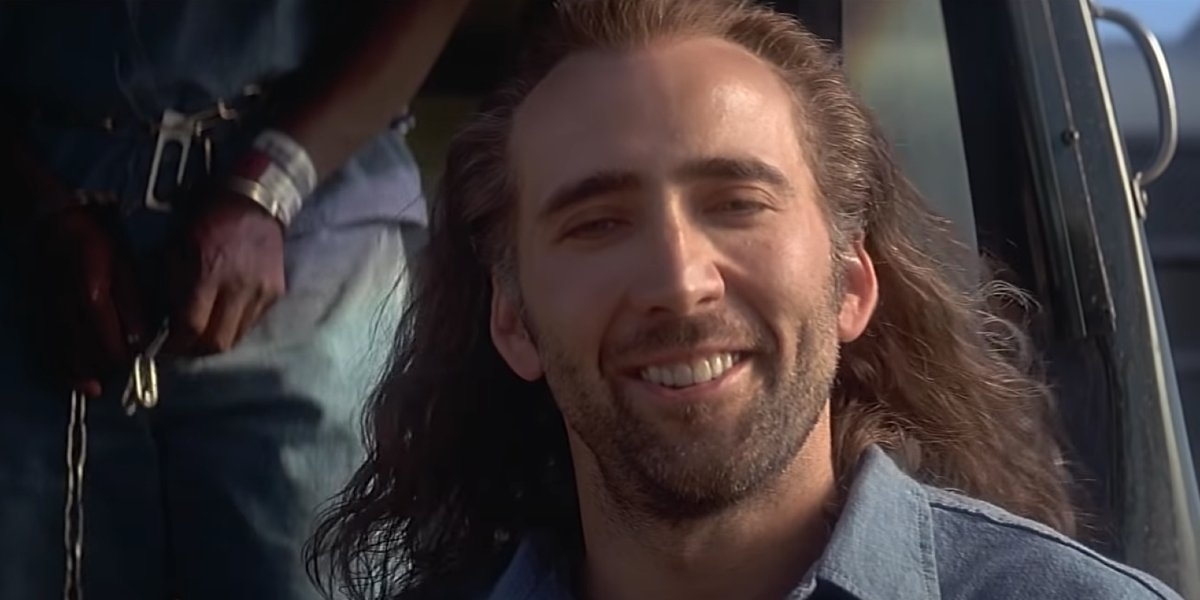 Nicolas Cage in Con Air