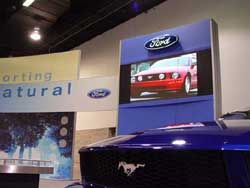 Impact Video Jump Starts the 2004-2005 Auto Show Season with Barcos I6 XP LED.