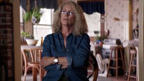 Halloween Kills' Jamie Lee Curtis Shares Bloody New Photo Of The Strode Women