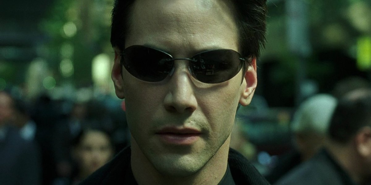 Keanu Reeve in The Matrix