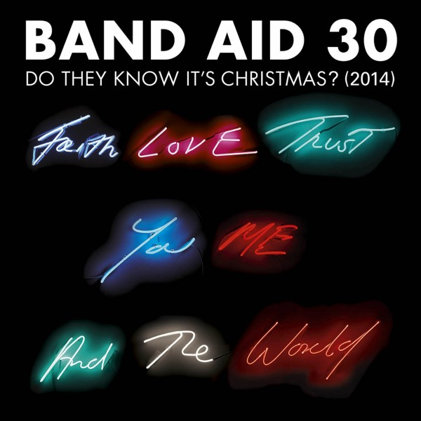 A picture of the Band Aid 30 single cover