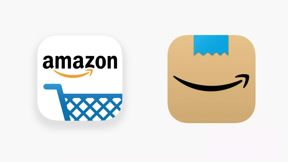 Amazon reveals new app icon, but users spot an unfortunate design flaw - Creative Bloq
