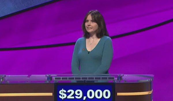 Larissa Kelly on Jeopardy!