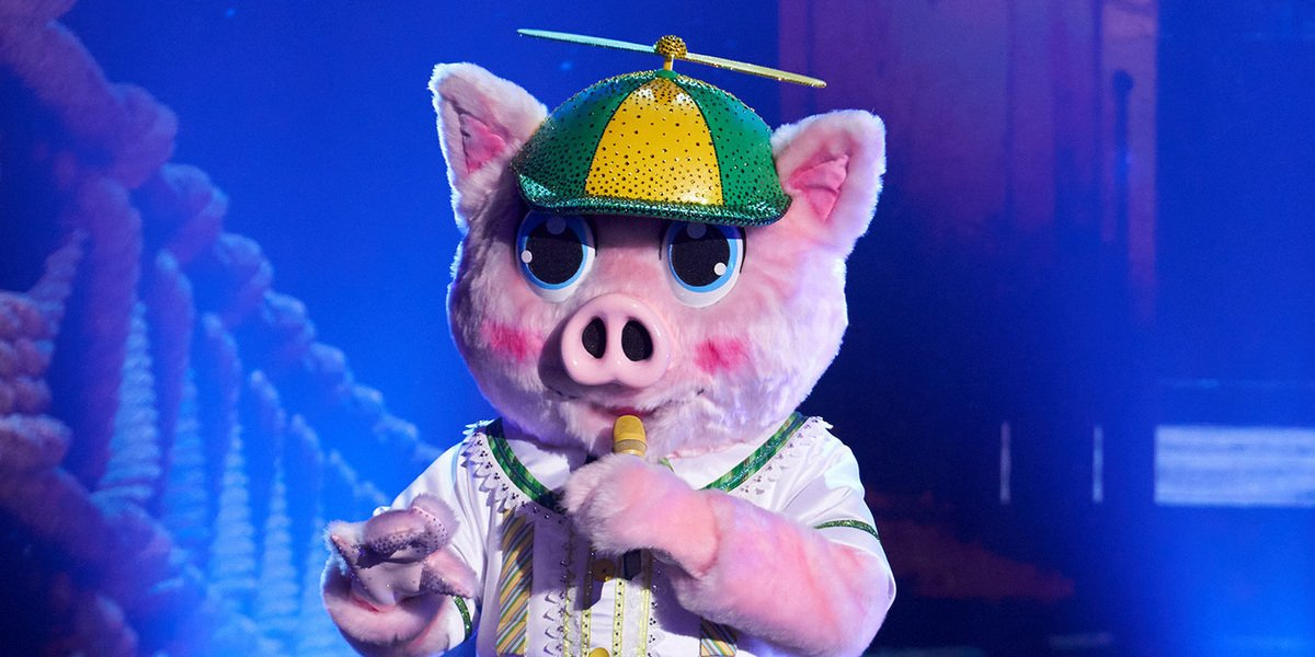 The Piglet on The Masked Singer fox