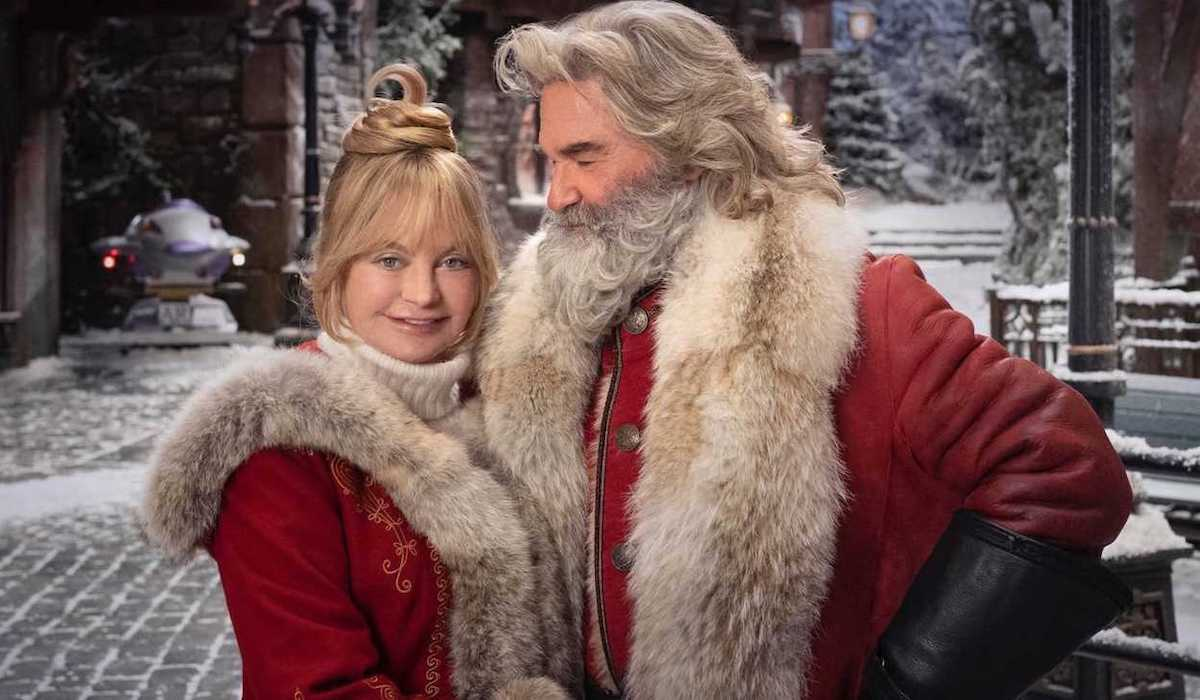 Goldie Hawn and Kurt Russell in Christmas Chronicles Part 2