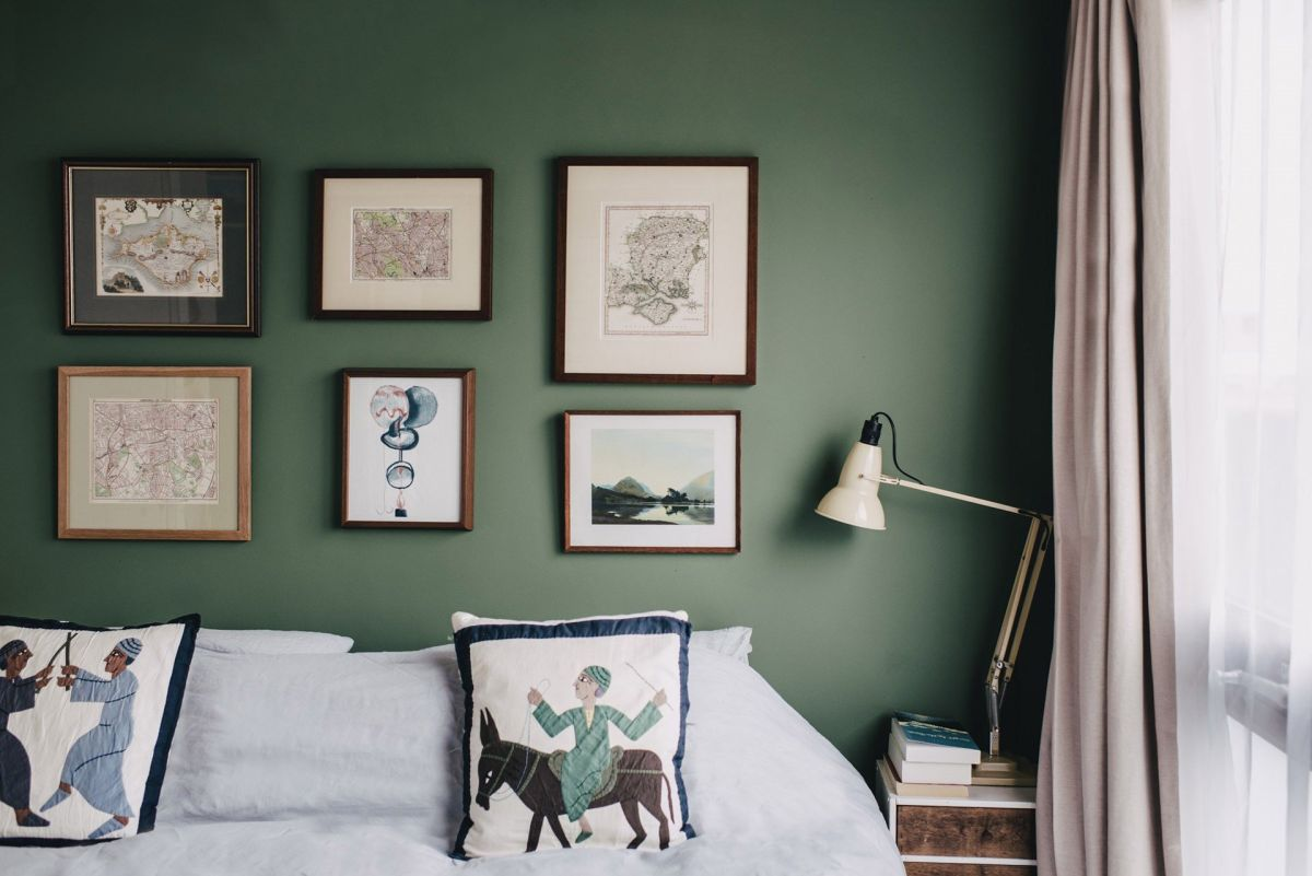 5 ways to use sage green paint to give your home a spring update
