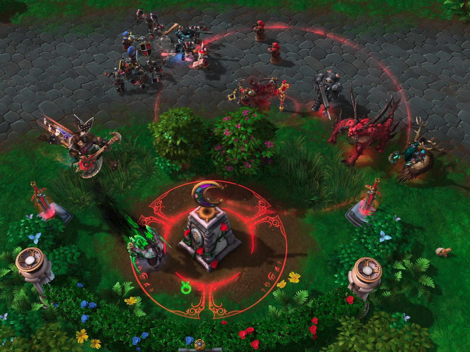 Heroes Of The Storm: Universes Collide In First Gameplay Trailer And Screenshots #29619