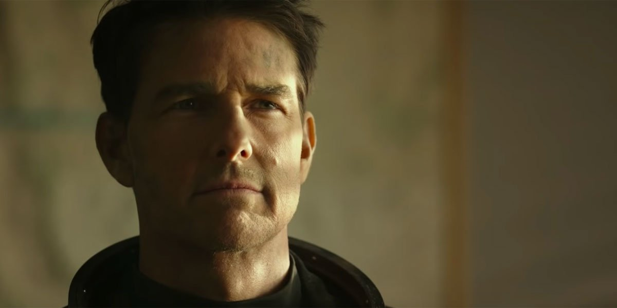 Tom Cruise in the Top Gun: Maverick Trailer 34 years later