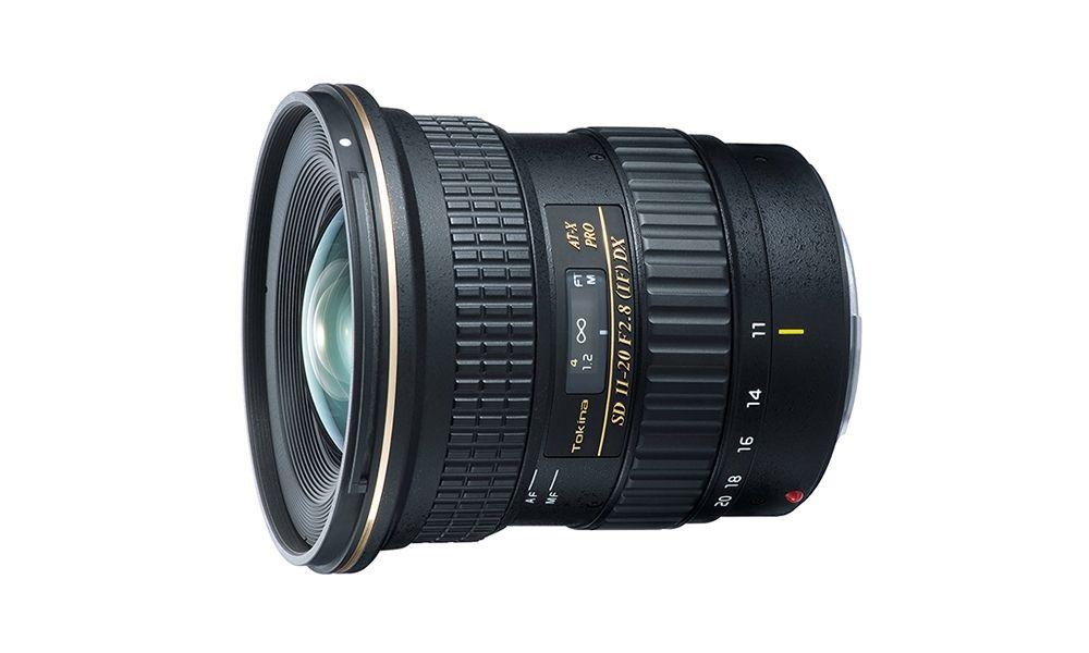 Tokina ATXAF120DXC 11-20mm f//2.8 Pro DX Lens for Canon EF,Black