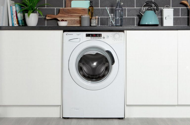 AO washing machine: Candy Grand'O Vita GVS168D3 8Kg Washing Machine