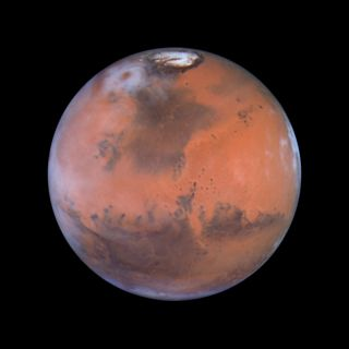 Acidalia Planitia on Mars