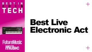 Who is the best live electronic act of 2018?