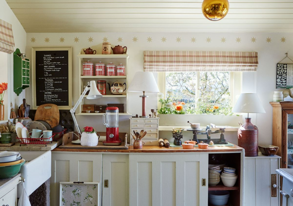 Real home: A forestry worker's cottage filled with treasure and charm